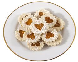 Galletas de Mantequilla con Mermelada