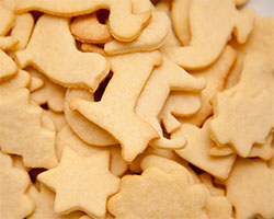 Galletas de Mantequilla sin Azúcar